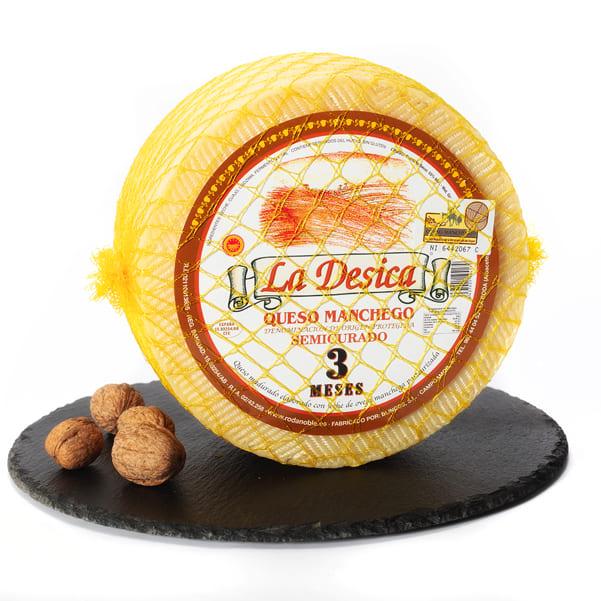 queso manchego con denominación de origen