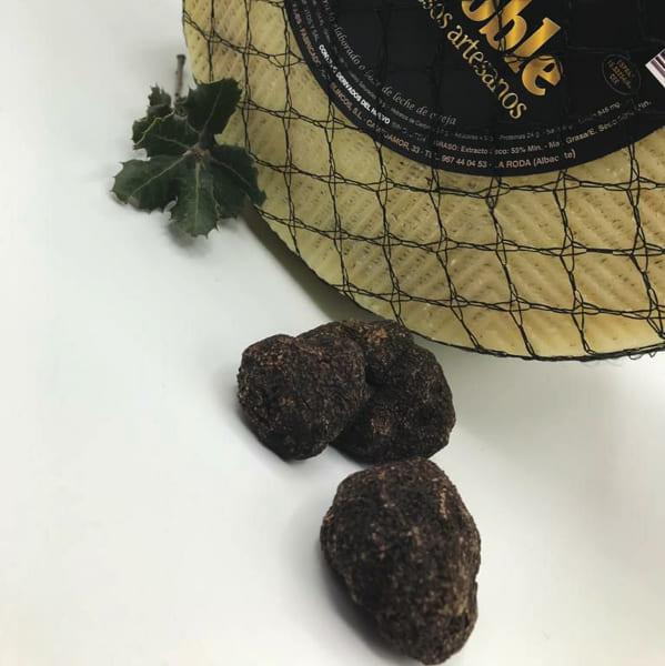 trufa negra utilizada en nuestros quesos